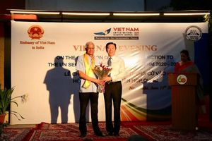 Ông Bijay Kumar - Người Ấn Độ nhận giải thưởng toàn quốc về thông tin đối ngoại của Việt Nam