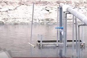 Khám phá công nghệ nano làm sạch sông Tô Lịch
