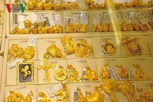 Giá vàng SJC tăng trên 39 triệu đồng/lượng rồi quay đầu giảm mạnh