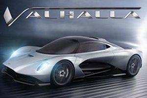 Aston Martin Valhalla - Siêu xe chỉ sản xuất đúng 500 chiếc