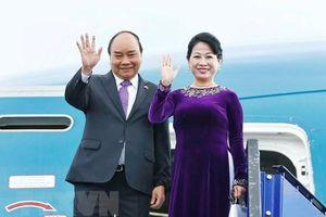 Thủ tướng Chính phủ Nguyễn Xuân Phúc và phu nhân chuẩn bị tham dự Hội nghị Thượng đỉnh G20