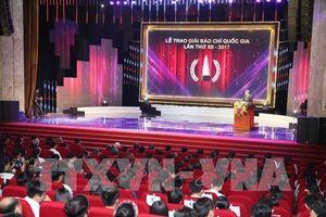 Giải báo chí quốc gia: Đồng hành cùng sự phát triển của đất nước