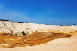 Quảng Bình: Sụt cát mỏ khai thác ti tan, 1 người mất tích, 4 người bị thương
