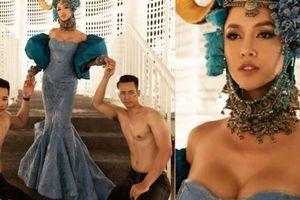 Khoe vòng 1 sexy, Vũ Ngọc Anh được bình chọn 'nổi loạn nhất' thảm đỏ