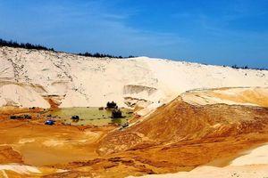 Quảng Bình: Sụt trượt cát, một người mất tích