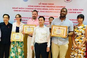 Vinh danh ngôi trường góp phần đặt nền móng xây dựng tình hữu nghị Việt – Mỹ