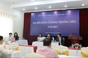 Kết luận thanh tra quá trình cổ phần hóa Tổng công ty thiết bị y tế Việt Nam
