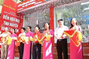 Ra mắt điểm hiến máu cố định đầu tiên tại Hà Nội