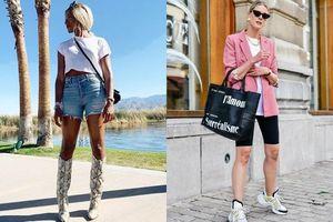 6 xu hướng quần short không mặc mùa hè này thì quá lỗi mốt