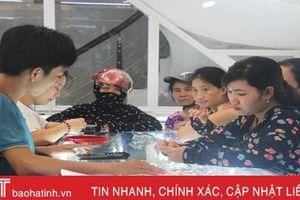 Giá vàng cao nhất 5 năm qua, thị trường Hà Tĩnh vẫn trầm lắng