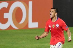 Sanchez có bàn thắng thứ 2 tại Copa America giúp Chile vượt qua vòng bảng