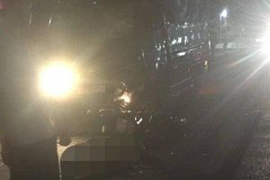 Xe tải tông xe máy ở Quảng Trị, 2 anh em thiệt mạng