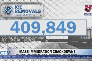 Tổng thống Mỹ chỉ thị trục xuất 2.000 gia đình nhập cư trái phép
