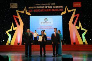 Betrimex lần thứ 2 lọt top 10 Thương hiệu tiêu biểu hội nhập Châu Á – Thái Bình Dương