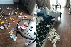 Dân mạng khiếp sợ với nhóm người thuê phòng khách sạn 5 sao ở Hạ Long nhưng ăn ở bẩn thỉu như 'người rừng'