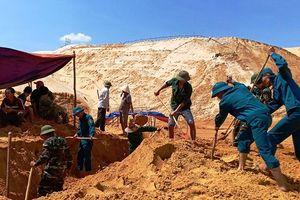 Tìm thấy thi thể công nhân tại mỏ khai thác ti-tan ở Quảng Bình