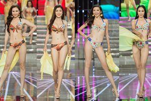Thí sinh 'Miss World Vietnam' khoe hình thể trong trang phục áo tắm