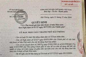 Hải Phòng: Nhiều dấu hiệu sai phạm trong vụ án 'Tranh chấp về kiện đòi tài sản là nhà cho ở nhờ'