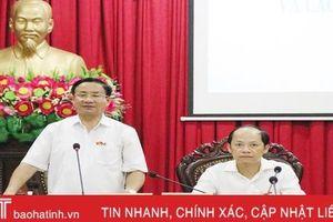 Tăng cường tuyên truyền về chủ trương sáp nhập, sắp xếp bộ máy tại TP Hà Tĩnh
