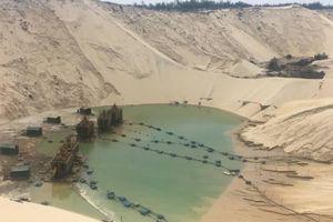 Quảng Bình: Sụt cát tại mỏ titan vùi chết một công nhân