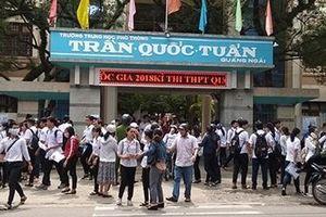 Thay đổi địa điểm thi THPT Quốc gia cho hơn 200 thí sinh ở Lý Sơn