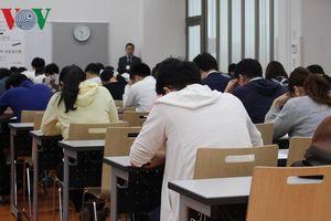 Đông đảo các tầng lớp người Nhật học và dự thi tiếng Việt để lấy bằng
