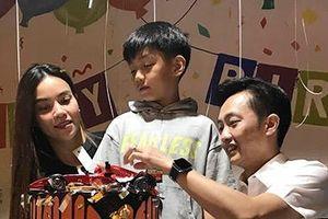 Chuyện showbiz: Hà Hồ, Cường Đô La tái hợp tổ chức sinh nhật cho Subeo