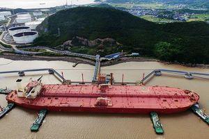 Trung Quốc ra mắt siêu tàu chở dầu lớn nhất thế giới
