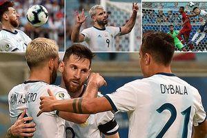Messi bất lực, Argentina vẫn lách qua khe cửa hẹp vào tứ kết