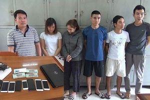 'Nữ quái' tổ chức đánh bạc dưới hình thức lô đề, xóc đĩa trên mạng internet