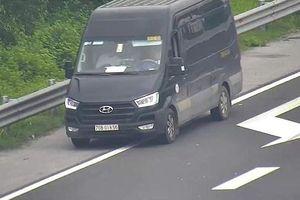 Nhiều phương tiện đi ngược chiều trên cao tốc Hà Nội – Hải Phòng bị xử lý