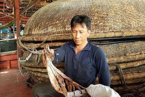 Ngư dân khóc ròng vì thương lái Trung Quốc không mua mực