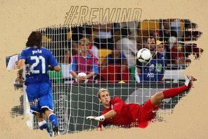 Andrea Pirlo sút panenka, biến Joe Hart thành gã hề ở Euro 2012
