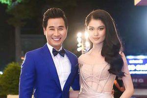 Nguyên Khang tình tứ bên hai Á hậu Thùy Dung, Diễm Trang