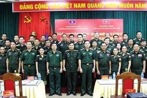 Tập huấn nghiệp vụ lịch sử quân sự lần thứ 8 cho Quân đội nhân dân Lào