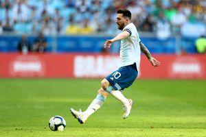 Argentina xếp nhì bảng B: Nhờ Martinez và Aguero 'giải cứu', Messi muốn 'được ăn cả, ngã về không'