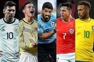 Lịch thi đấu bóng đá Copa America 2019: Argentina chờ gập Brazil ở bán kết