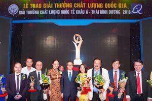 CEO Trần Quí Thanh: 'Giải Vàng Chất lượng quốc gia khẳng định đẳng cấp thế giới'