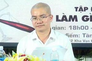 Lộng ngôn, Tổng Giám đốc địa ốc Alibaba xúc phạm cán bộ nhà nước