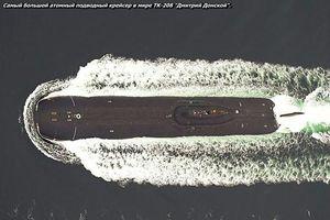 Bất ngờ: Tàu ngầm hạt nhân lớn nhất hành tinh vẫn còn phục vụ