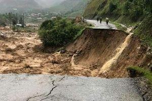 4 người bị mất tích do mưa lũ tại Lai Châu