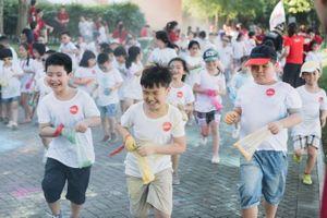 Tưng bừng đường chạy sắc màu Color Me Run cho trẻ em
