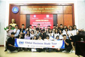 Trường Đại học Thương mại giao lưu với Trường Đại học Chungnam (Hàn Quốc)