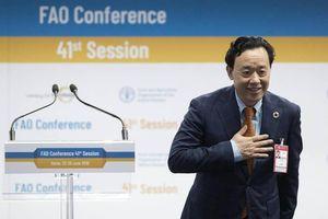 FAO có Tổng giám đốc mới nhiệm kỳ 2019 - 2023