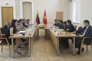 Bộ trưởng Bộ Công an Tô Lâm thăm, làm việc tại Litva