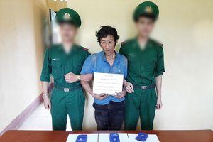 Bắt đối tượng cư trú trái phép tại Lào vận chuyển ma túy