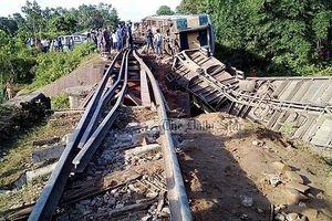 Tai nạn đường sắt khiến hơn 100 người bị thương vong tại Bangladesh