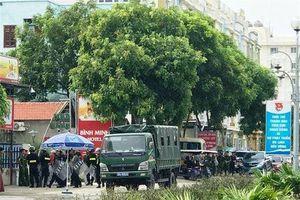 Huy động cảnh sát ngăn xô xát tại khu du lịch Hải Tiến: Do mâu thuẫn kinh doanh?