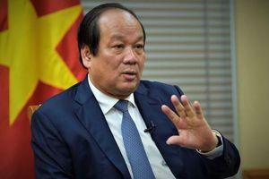 Bộ trưởng Mai Tiến Dũng: 'Từ bỏ quyền lợi, không dễ chịu gì vẫn phải làm'