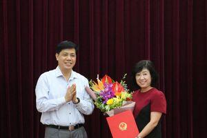 Bộ Giao thông Vận tải bổ nhiệm Phó Vụ trưởng Vụ Kế hoạch Đầu tư